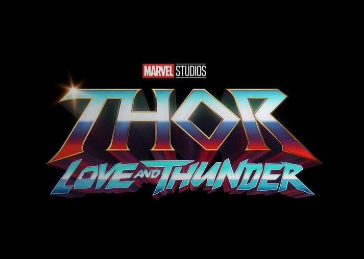 Logotipo de Thor: Love and Thunder (2022). Imagen: Marvel.com