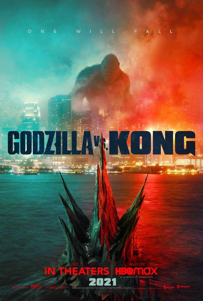 Póster de Godzilla vs. Kong (2021). Imagen: Godzilla Vs Kong Twitter (@GodzillaVsKong).