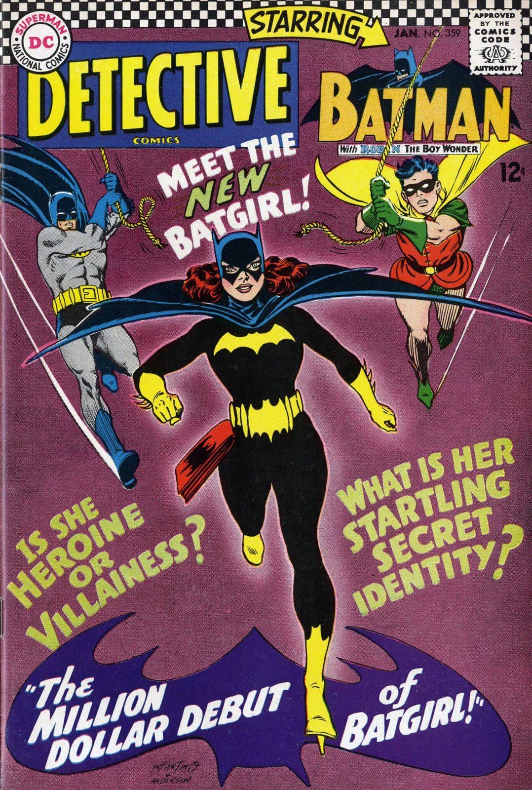 Portada de Detective Comics #359 (enero de 1967). Imagen: pinterest.com