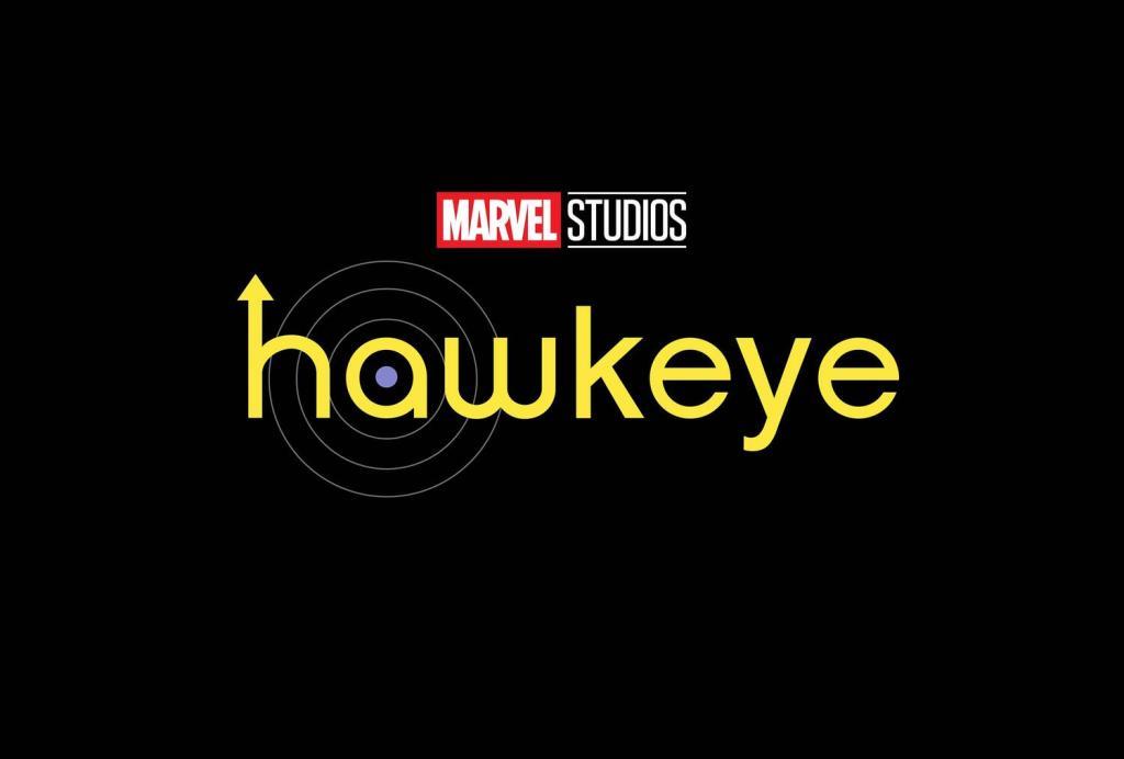 El logotipo de la serie de televisión Hawkeye (2021) en Disney+. Imagen: Marvel.com