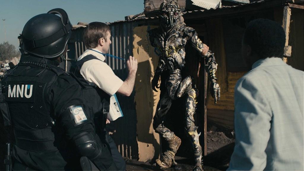 Sharlto Copley interpretó a Wikus Van De Merwe en District 9 (2009). Imagen: TriStar Pictures