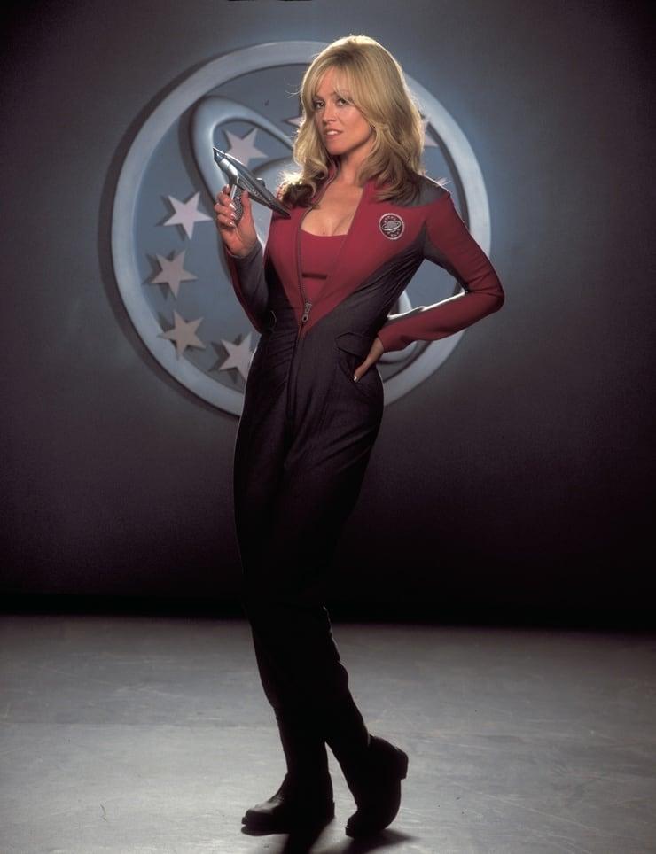 Gwen DeMarco/Teniente Tawny Madison (Sigourney Weaver) en Galaxy Quest (1999). Imagen: listal.com