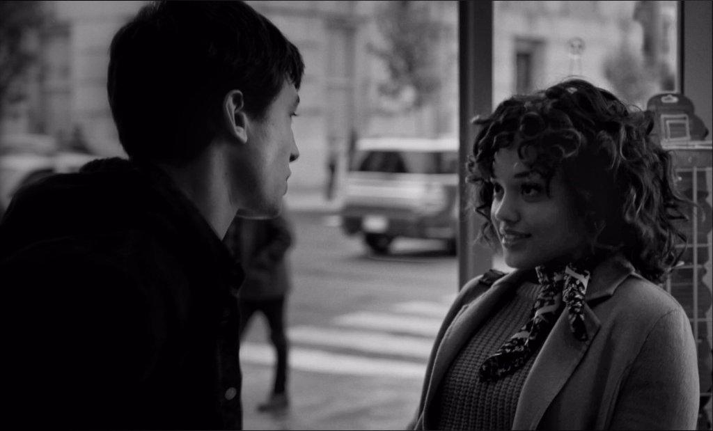 Barry Allen (Ezra Miller) e Iris West (Kiersey Clemons) en Zack Snyder's Justice League (2021). Imagen: Zack Snyder Vero