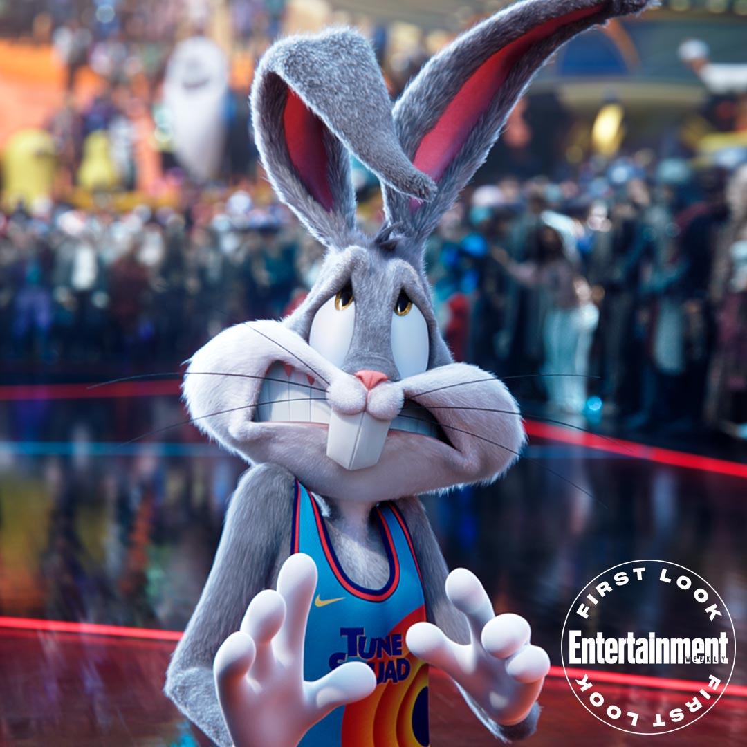 Bugs Bunny (voz de Eric Bauza) en Space Jam: A New Legacy (2021). Imagen: Entertainment Weekly Twitter (@EW).