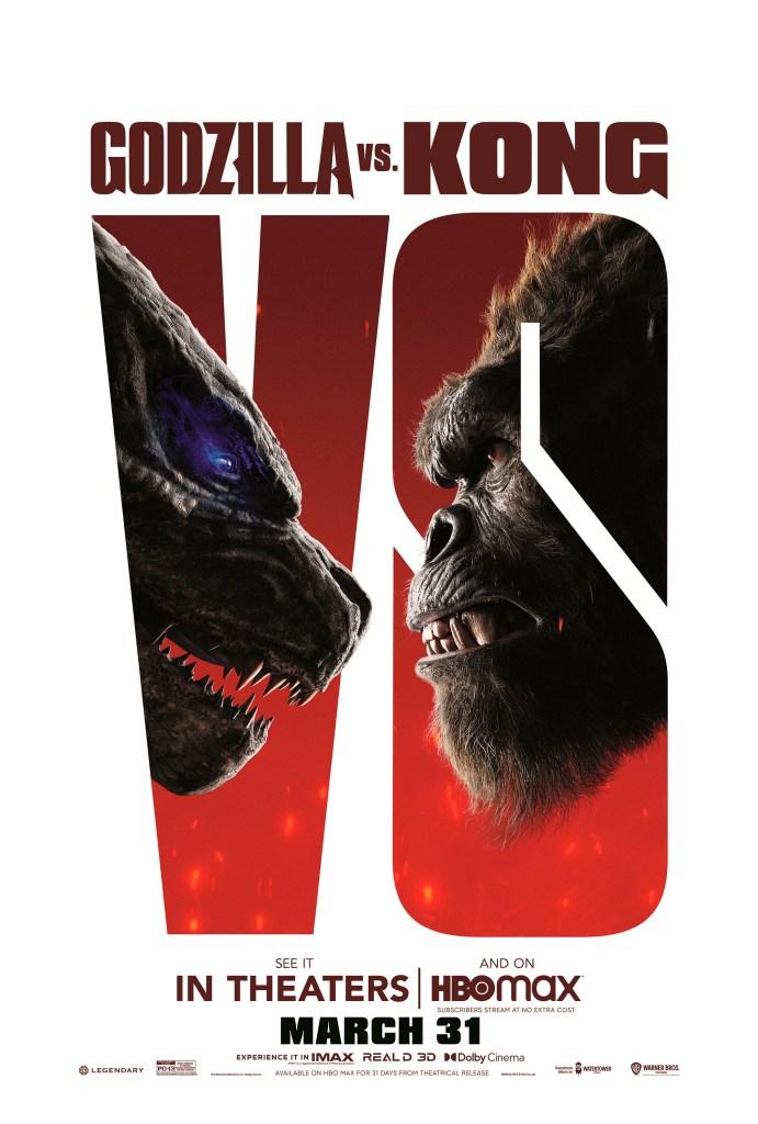 Póster de Godzilla vs. Kong (2021). Imagen: impawards.com