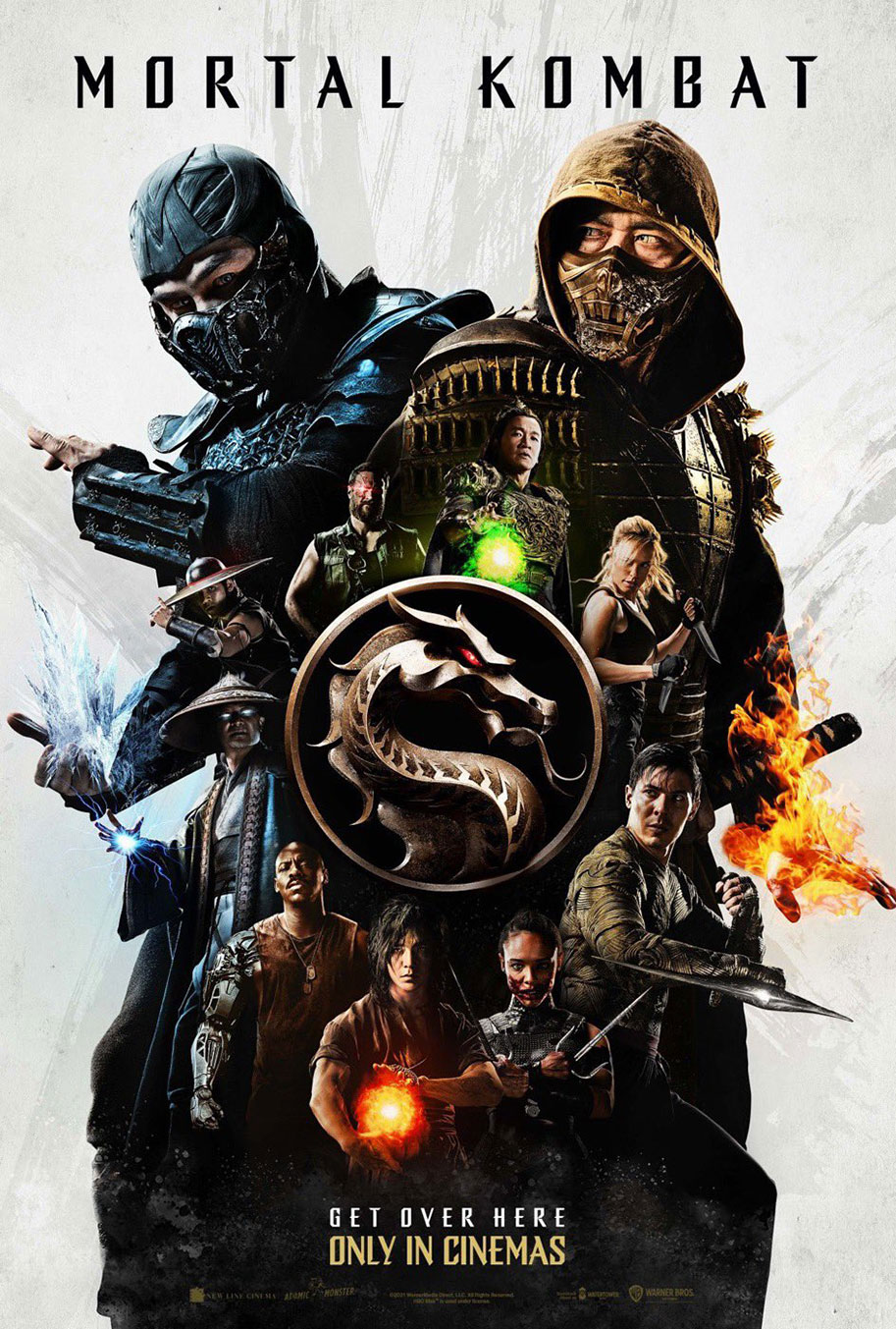 Póster de Mortal Kombat (2021). Imagen: JoBlo.com