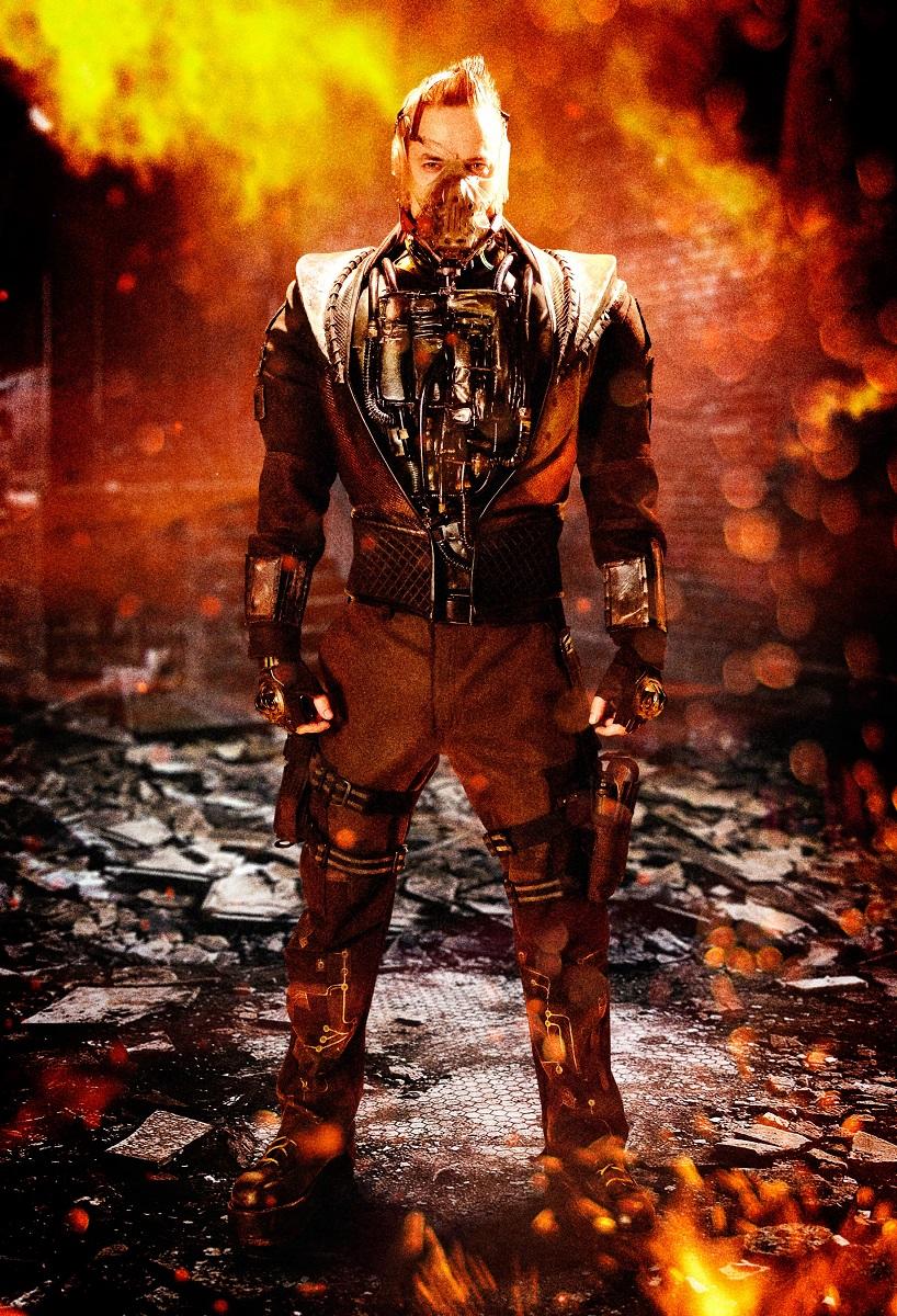 Shane West como Bane/Eduardo Dorrance en la temporada 5 de Gotham (2014-2019). Imagen: dccomics.com