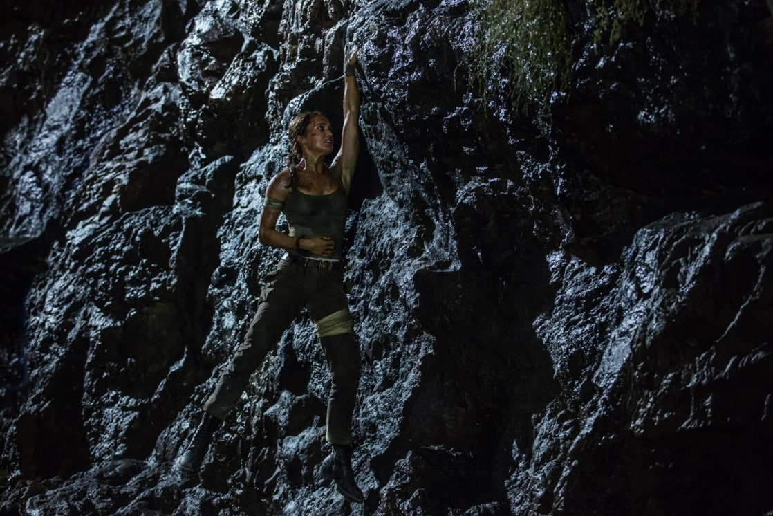 Lara Croft (Alicia Vikander) en Tomb Raider (2018). Imagen: listal.com