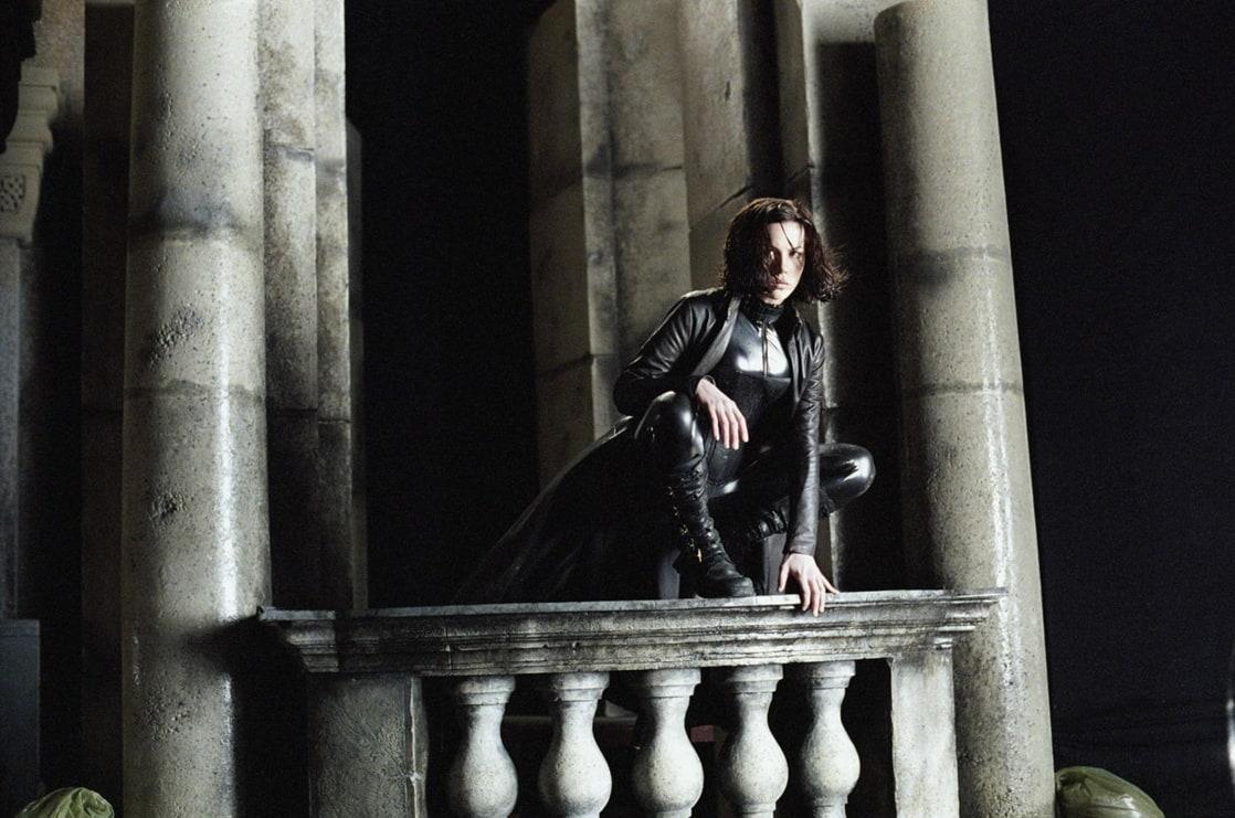 Selene (Kate Beckinsale) en Underworld (2003). Imagen: listal.com