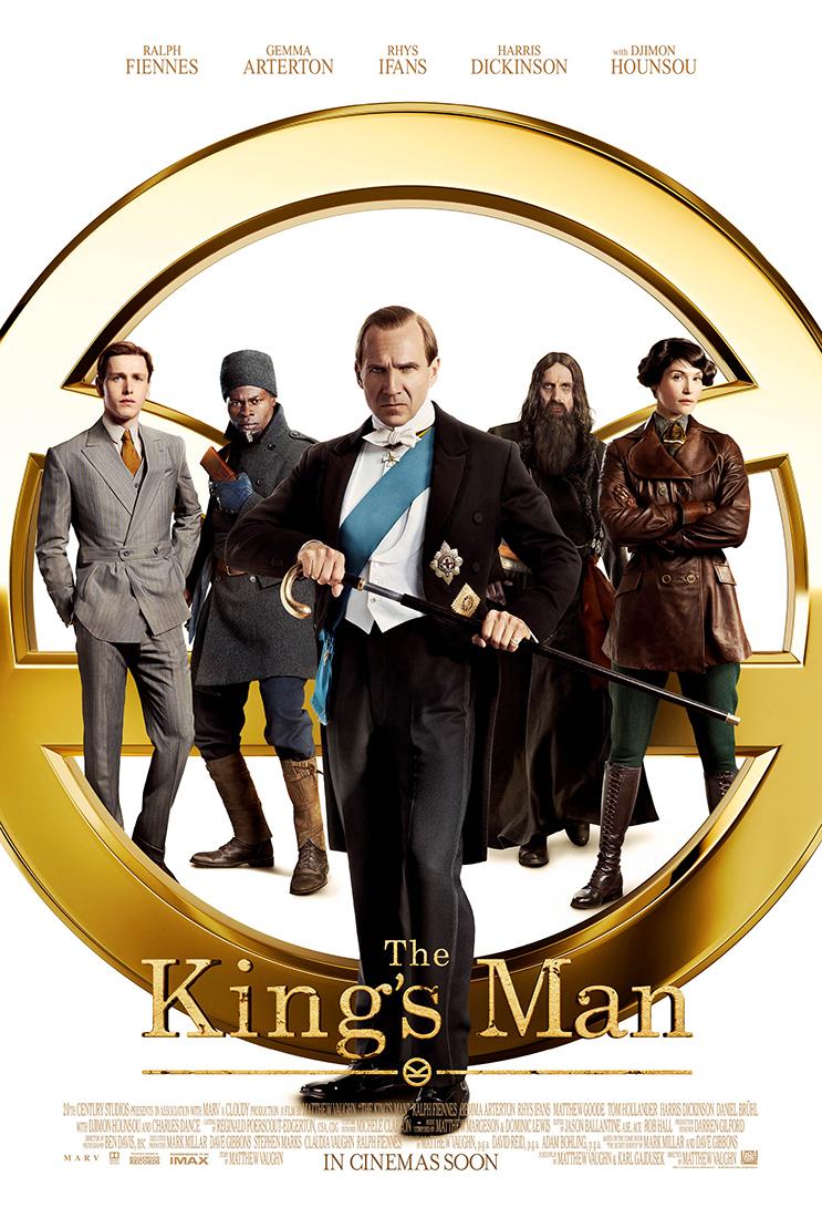 Póster de The King's Man (2021). Imagen: The King's Man Twitter (@KingsmanMovie).