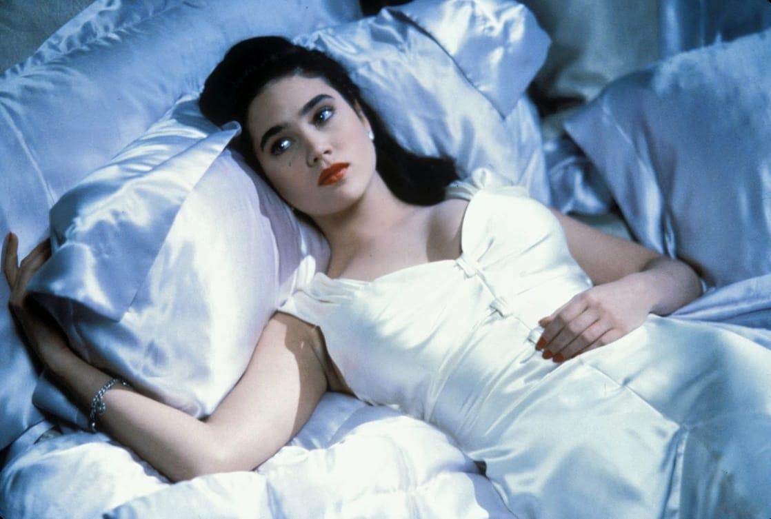 Jenny Blake (Jennifer Connelly) en The Rocketeer (1991). Imagen: listal.com