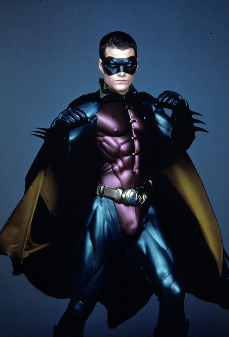 Robin/Dick Grayson (Chris O'Donnell) en Batman Forever (1995). Imagen: listal.com