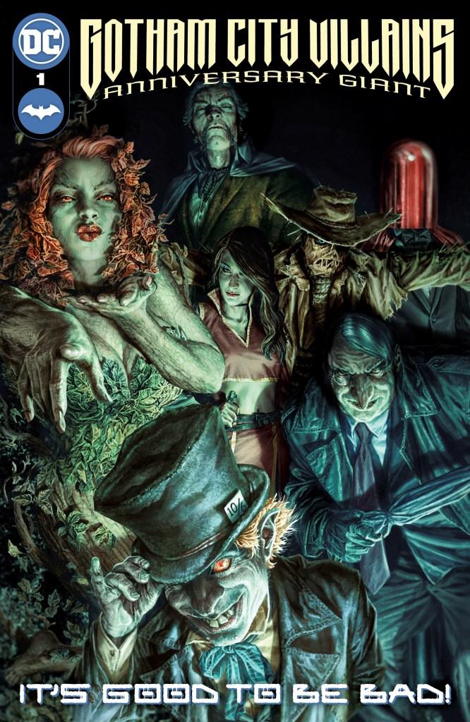Portada de Gotham City Villains Anniversary Giant #1 (noviembre de 2021) por Lee Bermejo. Imagen: Dan Mora Twitter (@Danmora_c).