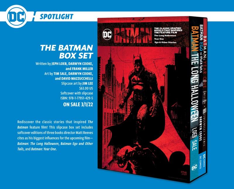 The Batman Box Set (2022) saldrá a la venta el 1 de marzo de 2022 (Estados Unidos). Imagen: thedirect.com