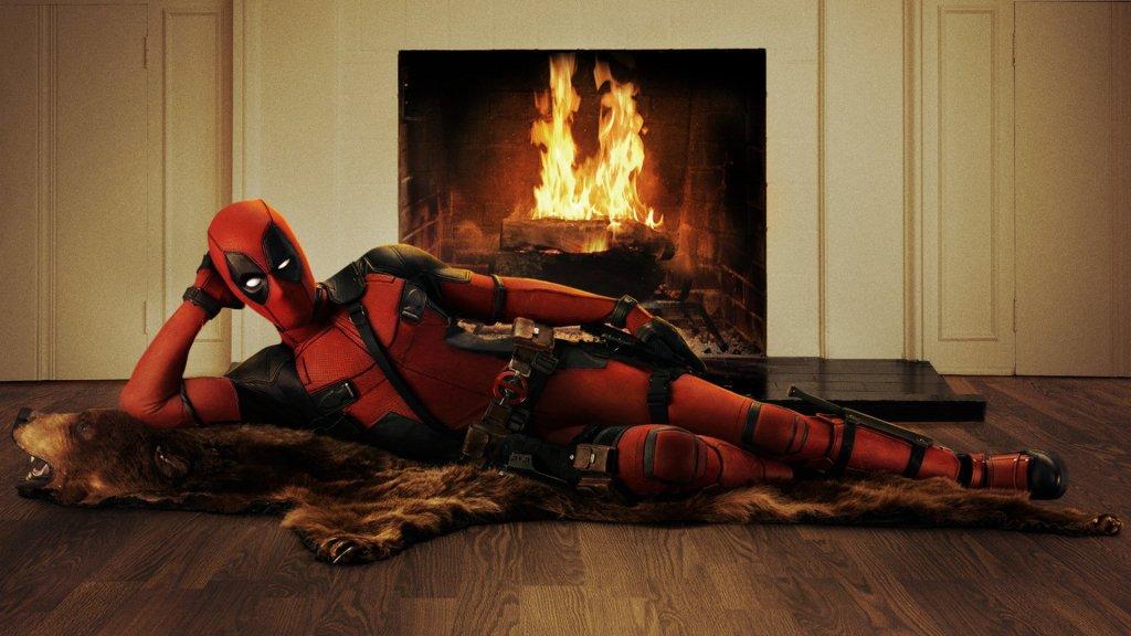 Deadpool/Wade Wilson (Ryan Reynolds) en arte promocional de Deadpool (2016). Imagen: fanart.tv