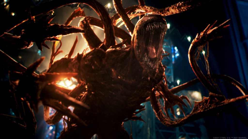 Carnage/Cletus Ksady (Woody Harrelson) en Venom: Let There Be Carnage (2021). Imagen: venom.movie