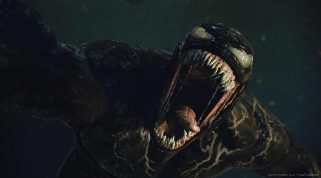 Venom/Eddie Brock (Tom Hardy) en Venom: Let There Be Carnage (2021). Imagen: venom.movie