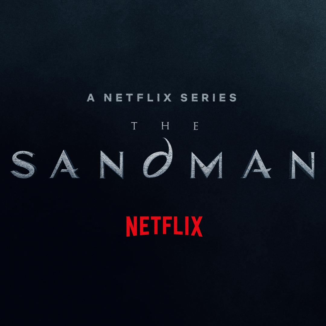 Logotipo de The Sandman en Netflix. Imagen: The Sandman Twitter (@Netflix_Sandman).