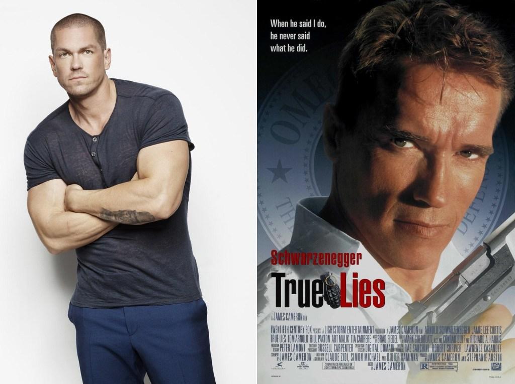 Steve Howey es el protagonista del piloto de True Lies, tomando el papel interpretado por Arnold Schwarzenegger en la película de 1994. Imagen: pinterest.com, listal.com