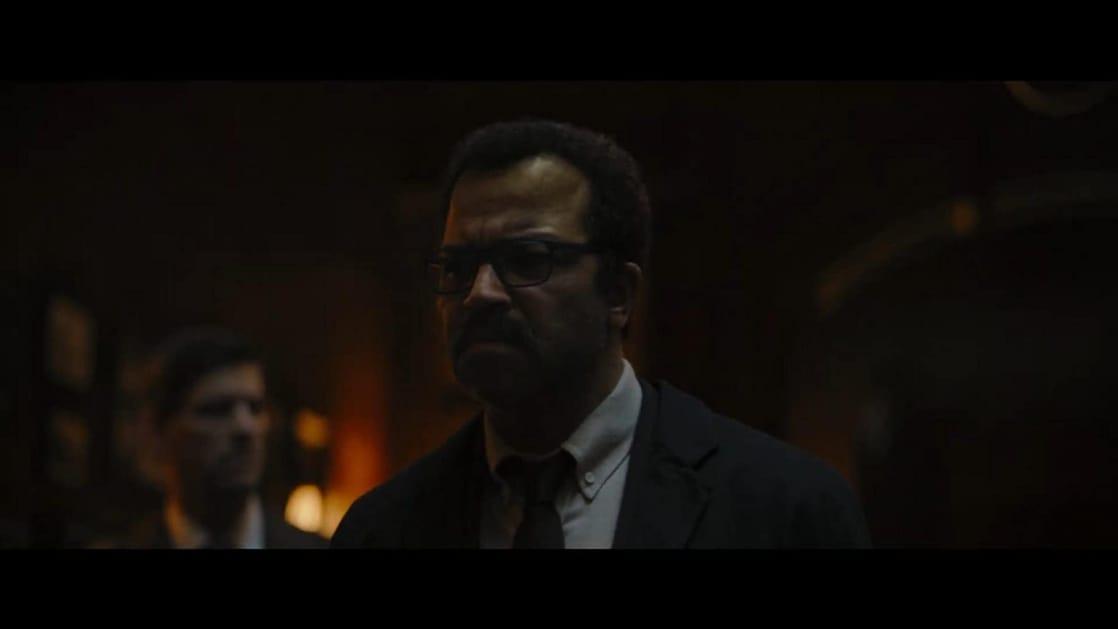 El Comisionado James Gordon (Jeffrey Wright) en The Batman (2022). Imagen: listal.com