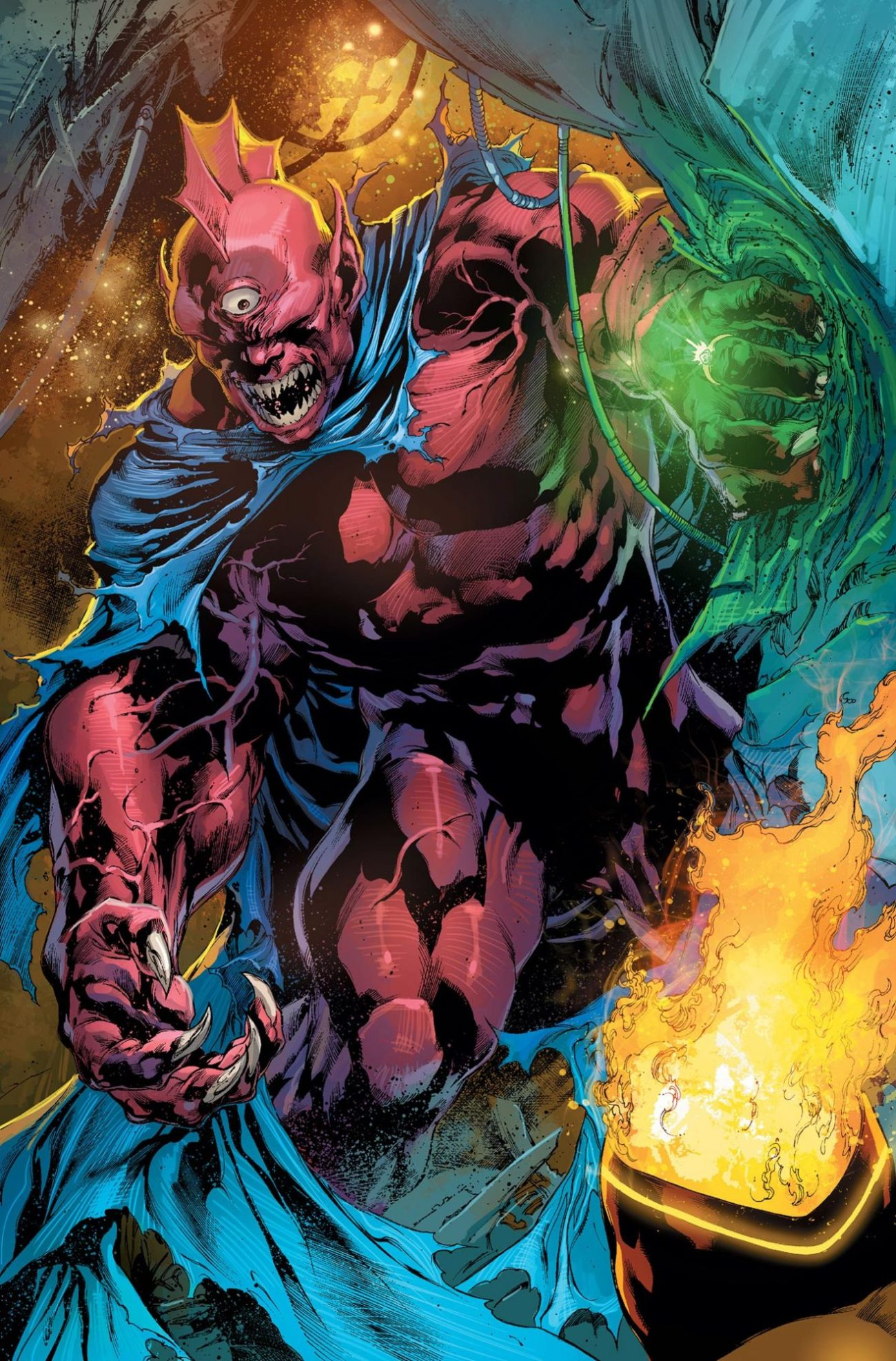 Despero en las páginas de DC Comics. Imagen: DC Comics