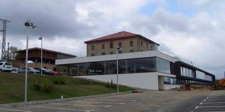 plan evacuación residencia palacio Leceñes Asturias