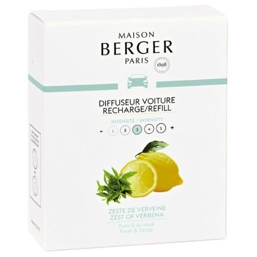 Maison Berger autoparfum navulling Zest of Verbena