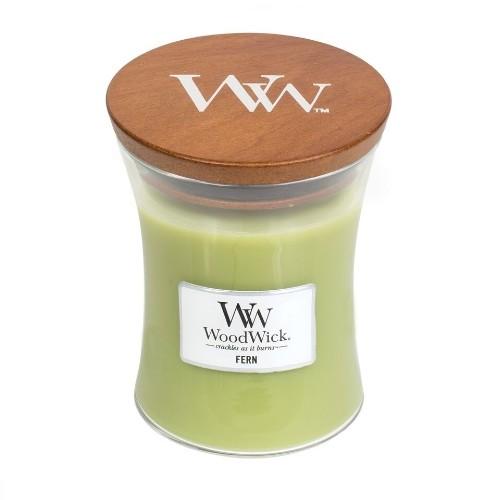 WoodWick Geurkaars Fern Medium
