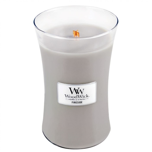WoodWick Geurkaars Fireside Large