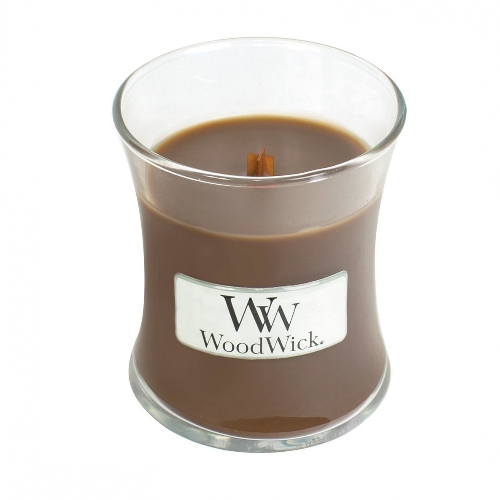 WoodWick Geurkaars Amber & Incense Mini