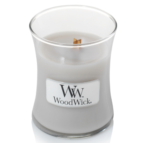 WoodWick Geurkaars Warm Wool Mini