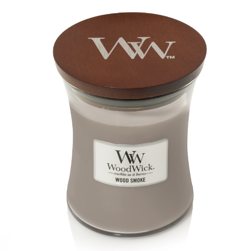 WoodWick Geurkaars Wood Smoke Medium