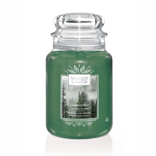 Yankee Candle Evergreen Mist large Jar