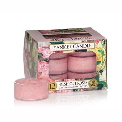 Yankee Candle Fresh Cut Roses Tea Lights