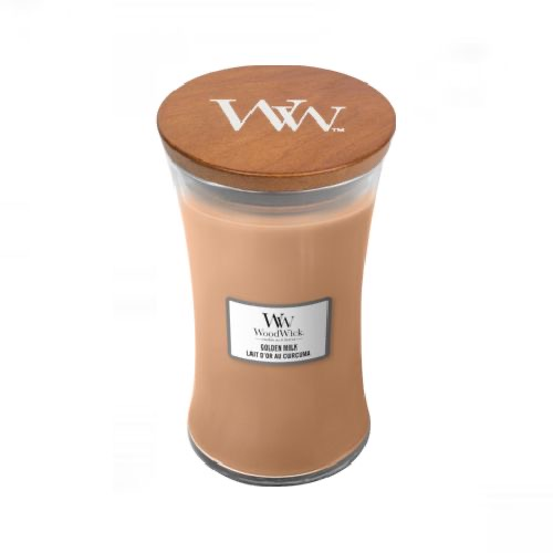Woodwick Geurkaarsen Golden Milk Large