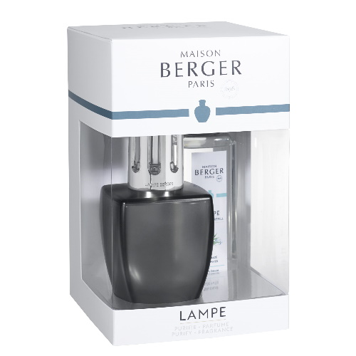Lampe Berger brander Giftset June Grey Satin