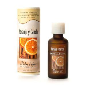 Boles d'Olor Geurolie Naranja y Canela 50 ml