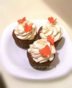 Cupcakes cu morcovi