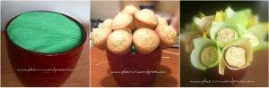 Buchet de cupcakes cu lamaie si mac4