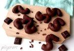 Biscuiti S cu ciocolata