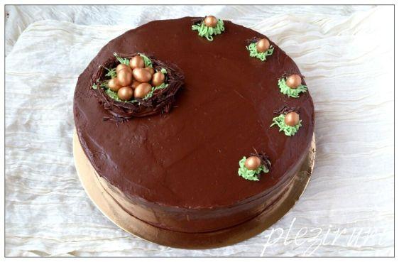 Tort de ciocolata de moda veche