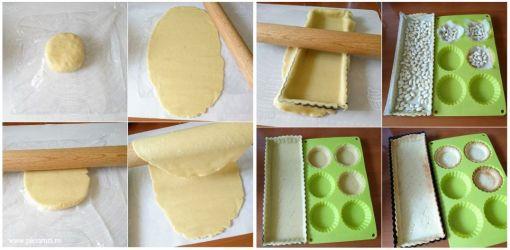 pleziruri- Tarta cu crema de vanilie si capsuni