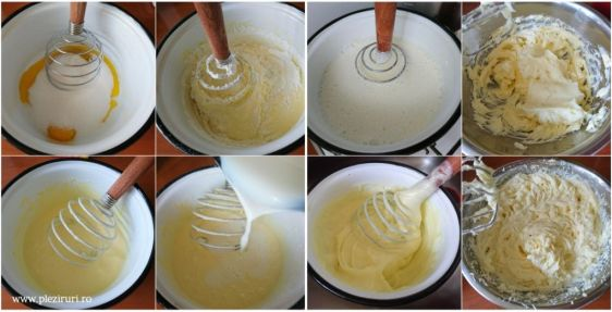 Prajitura cu miere si nuca