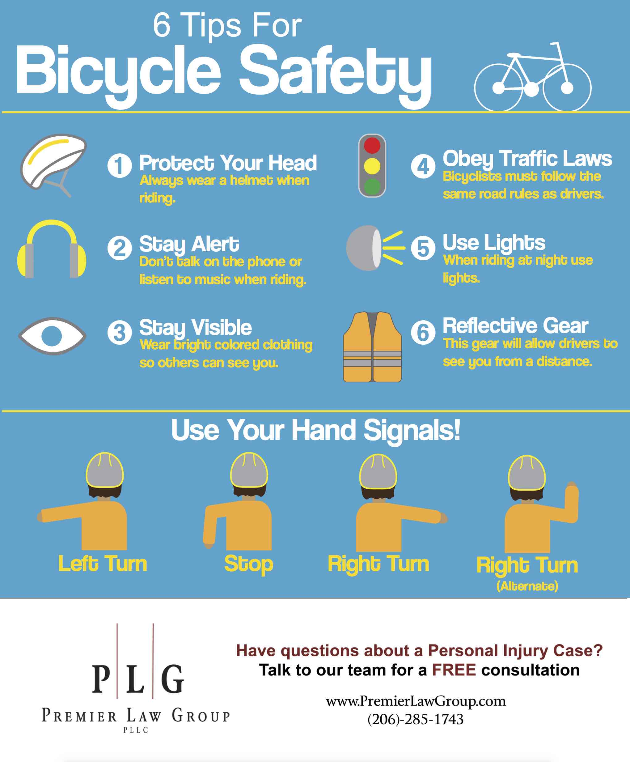 6 Tips For Bicycle Safety