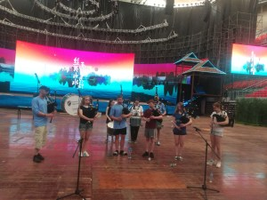 PLHS Pipe Band in Nanning