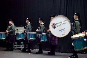 Preston Lodge High School Pipe Band