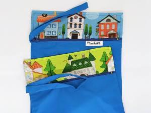 Domček - vrecko na plienky pohľad z predu