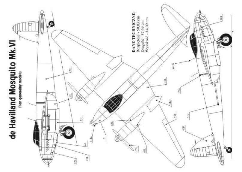 Wydanie 2009 No15 MOSQUITO brytyjski samolot myśliwski z