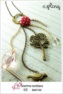 NA0194 - lovetree necklace