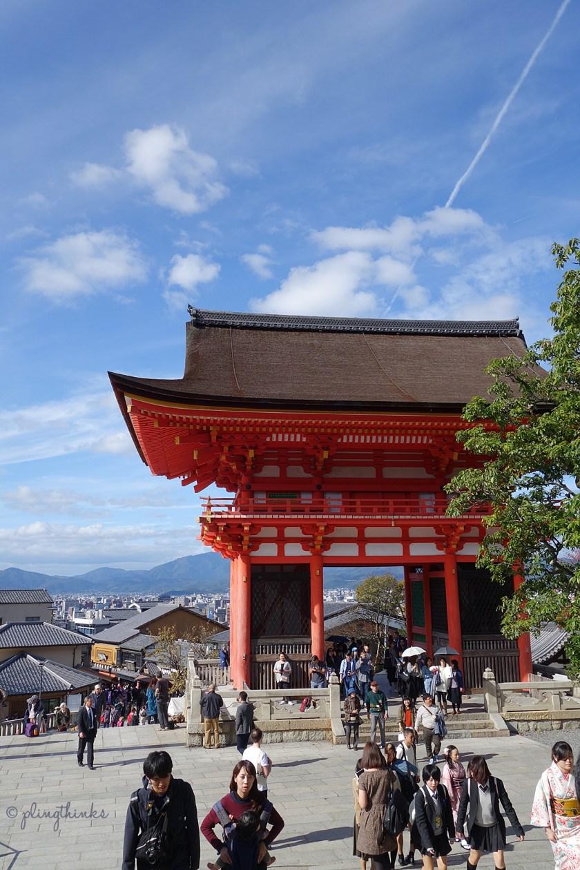 Kiyomizu-dera Temple Romon Entrance Gate - Kyoto